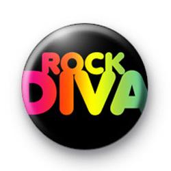Rock Diva Badge