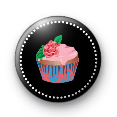 Sophisticated Rose Cupcake Badges