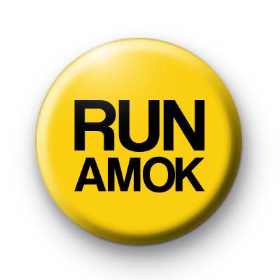 Run Amok Badge
