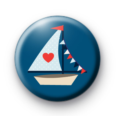 Sail Away Nautical Badge