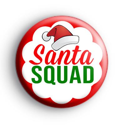 Santa Squad Christmas Badge