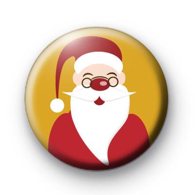 Santa Claus Red Badge