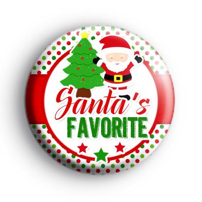 Santas Favorite Badge
