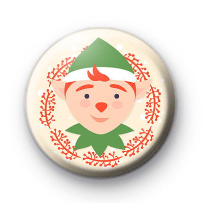 Santa's Little Helper Festive Elf Badge