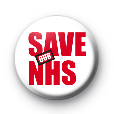 Save Our NHS badge