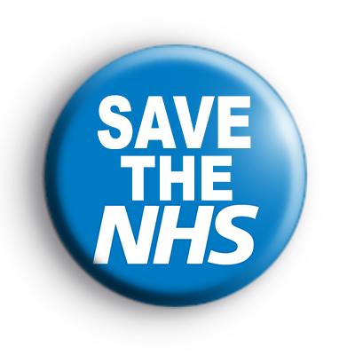 Save The NHS Badge