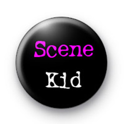 Scene Kid Badges