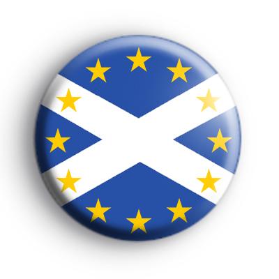 Pro EU Scotland Flag Badge