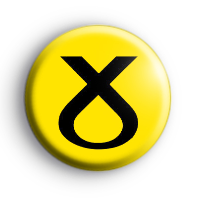 Scottish National Party Button Badge