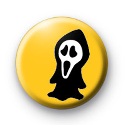 Ghosty Ghost Button Badge