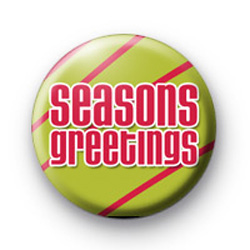 Seasons Greetings Red Badge