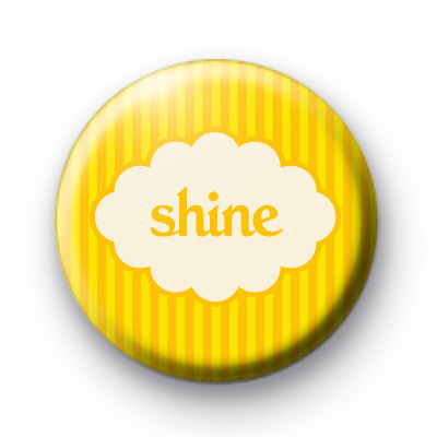 Shine Yellow button badge