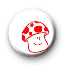 Mushroom Smile badges