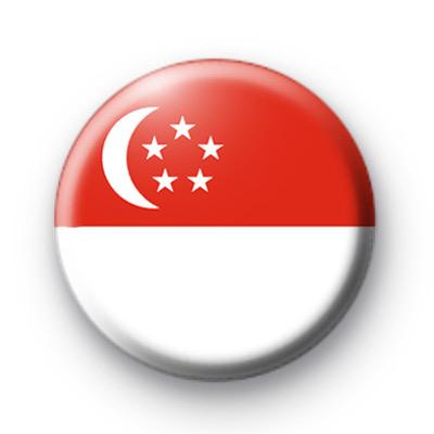 Singapore Flag badge