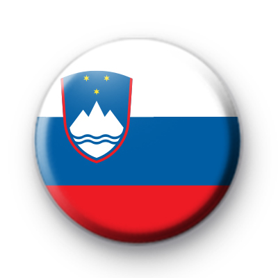 Slovenia National Flag Badge