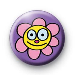 Flower Smile Badges