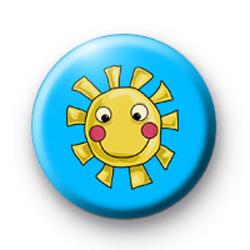Cute Smiley Sun badges