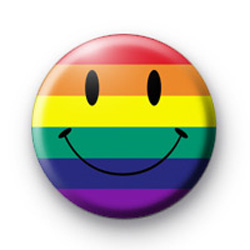 Rainbow Smiley Badges