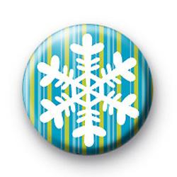 Snowflake Stripes Badge