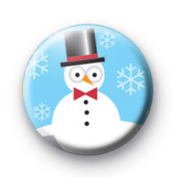 Cute Snowman Badges