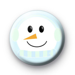 Snowy Snowman Badges