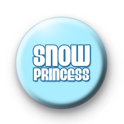 Blue Snow Princess Badge
