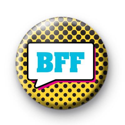 BFF Speech Bubble Badges