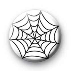 Spiders Web Button Badges