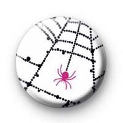 Pink Spider Badges
