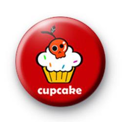 Spooky Skull Cupcake Badge