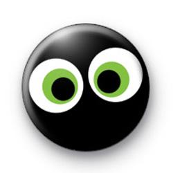 Spooky Eyes Button Badge