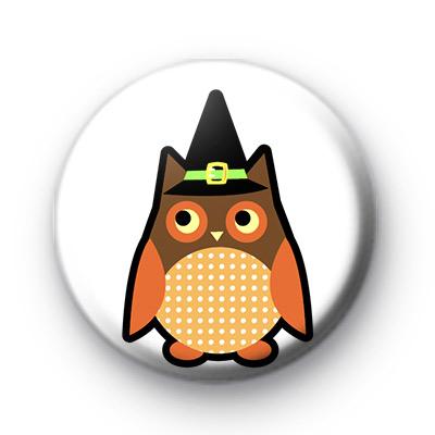 Halloween Spooky Owl Badge