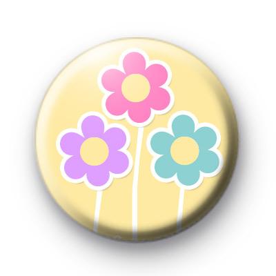Three Daisies Badge