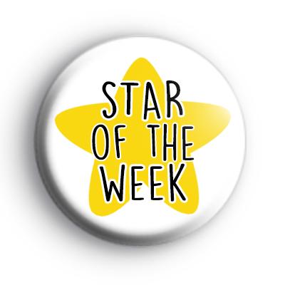 Star Of The Week Badge