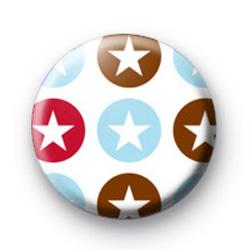 Star Pattern Badge