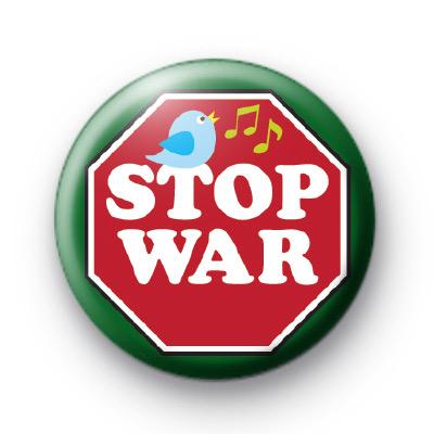 Stop War Sign Badges