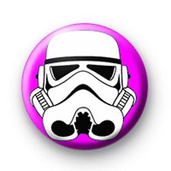 Storm Trooper Pink badge