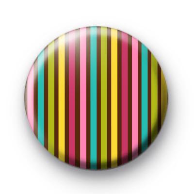 Bright Fun Stripe Badge