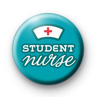 Student Nurse Button Badges