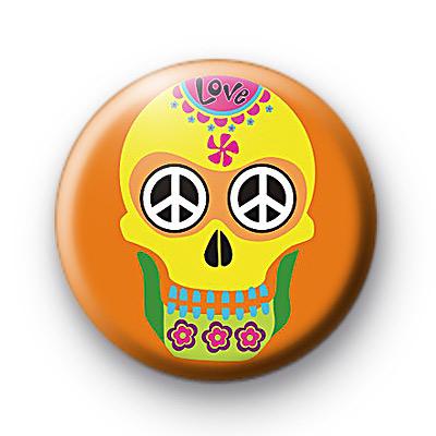 Sugar Skull 2 Badge
