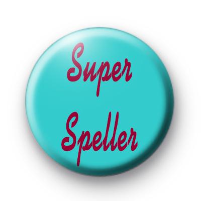 Super Speller Badge