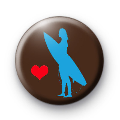 Love to Surf Button Badges