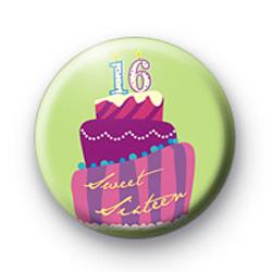 Sweet 16 Badges