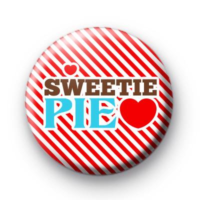 Red Sweetie Pie Badge