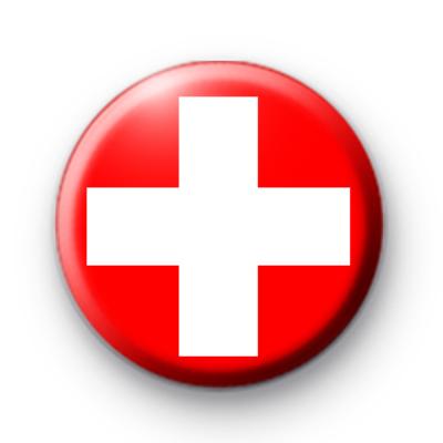 Switzerland Flag Badge
