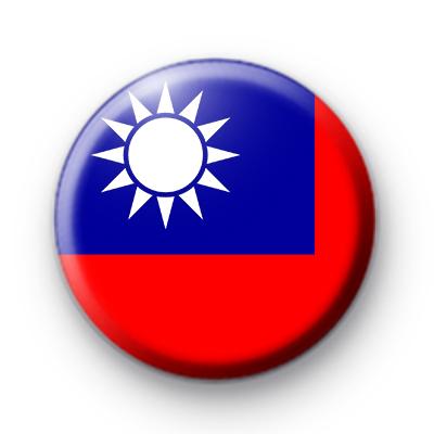 Taiwan Flag Badge