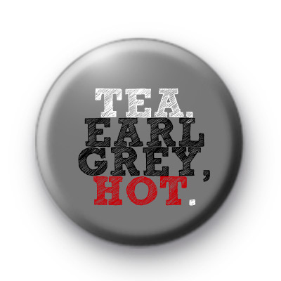Tea Earl Grey Hot badge