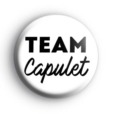 Romeo and Juliet Team Capulet Badge