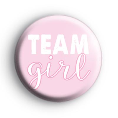 Pink Team Girl Badge