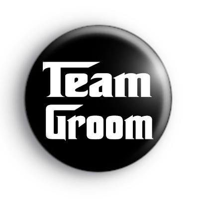 Godfather Style Tean Groom Badge
